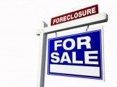 Hanging Foreclosure Sign